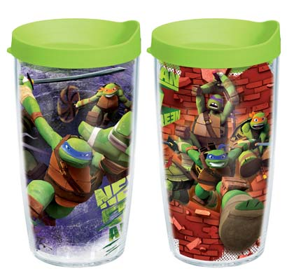 Tervis Teenage Mutant Ninja tumblers