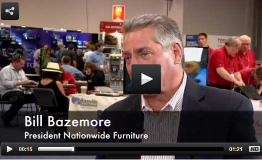 Bill Bazemore talks about the new products offered within the furniture division