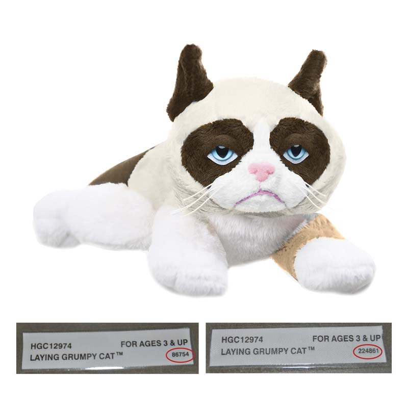 Ganz recalls Grumpy Cat plush toys