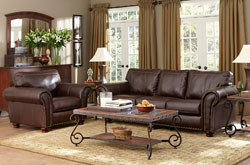 Albany Inds. is showing the Grayson premium leather group at market. Retail price is $1,199.