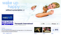 Therapedic dives into social media