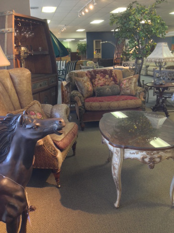 Allegheny Furniture Consignment sells used furniture and other home goods.