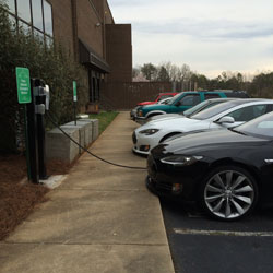 Phillips Collection electric vehicle charging
