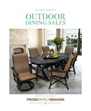 Outdoor Dining Sales