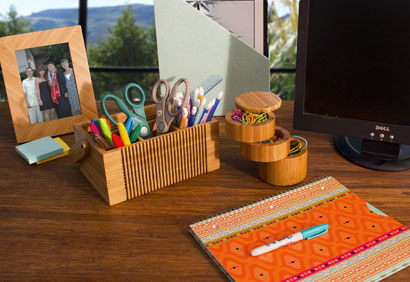 Totally Bamboo Desk Accessories