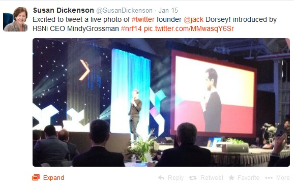 Jack Dorsey at NRF Big Show 2014