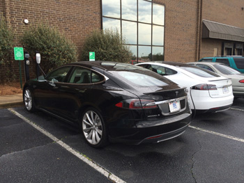 The Phillips Collection has begun offering free charging for electric vehicles at its facility in High Point.
