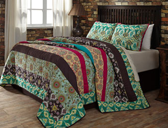 Capri bedding from VHC Brands