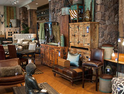 R.C. Willey furniture display