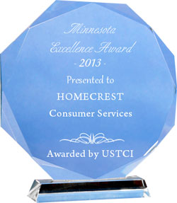 Homecrest Minnesota Excellence Award