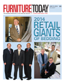 Furniture Today cover for 13 May 2014