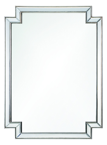 Mirror Image Home silver leaf