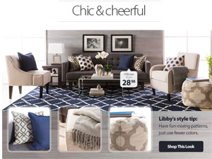 Langdon s new home d cor collection debuts at for Decoration maison walmart