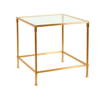 Alden Parkes Brass Bunching table