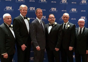 Kevin O Connor Neil Zimmer Honored At Adl Banquet