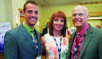 Kellen Harkness, Left, Cyndi Harkness, And David Harkness, Harkness  Furniture, Tacoma, Wash. Harkness Was Selected As A Retailer Of The Year.