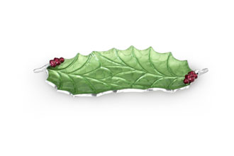 Holly Sprig tray from Julia Knight