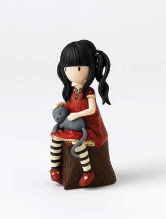 Ruby figurine from Enesco