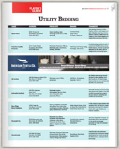 Utility Bedding Guide