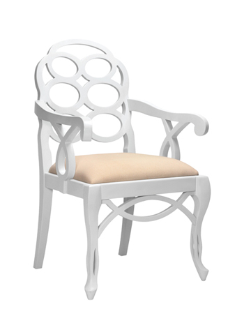 Bungalow 5 loop armchair