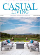 Casual Living cover for July 2014