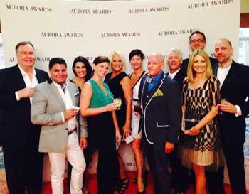 At The Aurora Awards Banquet Are Clive Daniel Homeu0027s John Tweet, Left,  Wilfredo Emanuel