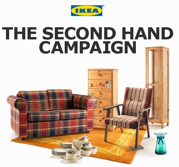 Ikea second hand campaign