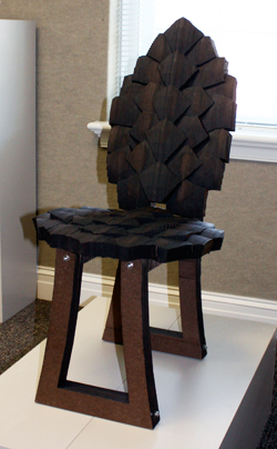 Superieur This Chair Prototype Was Created By HPU Student Mia LeNoir.