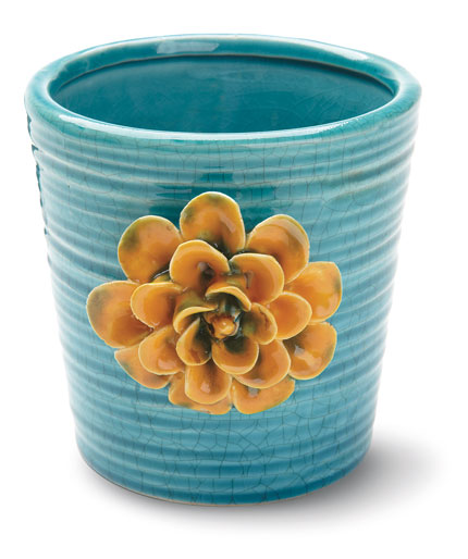 Ceramic flower pot from Foreside Home & Garden