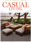 Casual Living cover August 2014