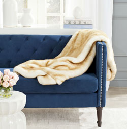 Safavieh is launching throws at the NY Home Fashions Market.