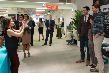 Out and about at the casual market casual living for How tall are the property brothers