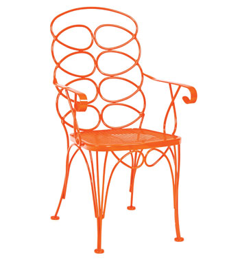 Woodard Gelati chair