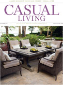 Casual Living cover for October 2014