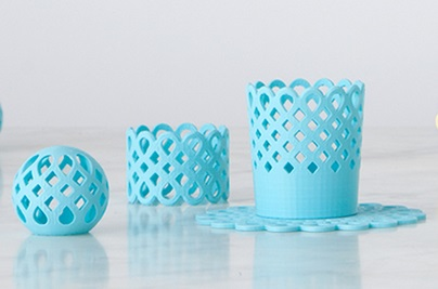 Makerbot Martha Stewart 3d designs