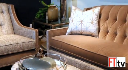 Cindy Hodnett previews the new Candice Olson collection at Highland House
