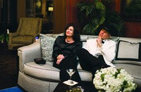 Louis Shanks Of Texas Customers Relax On A Humphrey Bogart Sofa By Fine  Furniture Design During A Launch Party For The Collection In The Retaileru0027s  Austin, ...