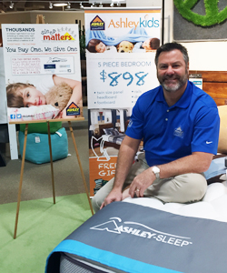Ashley Furniture HomeStore Licensee The Wilks Group And Owner Mark Wilks,  Shown, Partnered With Customers To Donate More Than 150 Bedding Sets To  Children ...