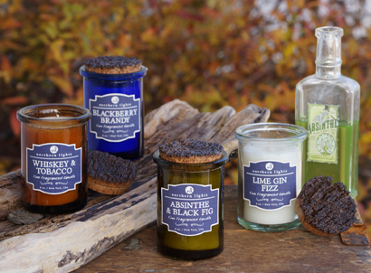 Lovely The Spirits Collection Features Four Blends: Whiskey U0026 Tobacco, Blackberry  Brandy, Absinthe U0026 Black Fig And Lime Gin Fizz. 6 Oz. Northern Lights Candle  ... Design Ideas