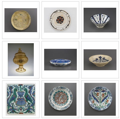 Freer Sackler, Islam objects