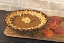 The Paula Deen Signature pie press/cutters from Meyer will allow bakers to easily decorate holiday pies in iconic shapes.