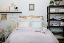 The Eileen West collection from AQ Textiles uses a blend of Tencel and Supima cotton.