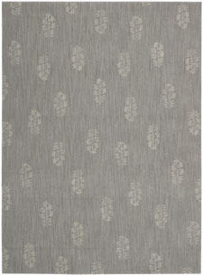 The new Pondicherry rug design, from the Calvin Klein Home collection produced by Nourison.