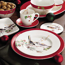 Lenox has high expectations for Winter Song, its new casual Christmas pattern. lenox.com