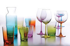 Pasabahce introduces Workshop,  a collection of glassware in natural shapes  and a variety of colors. pasabahce.com