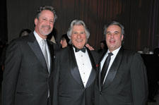 From left, Ron Hersh, Murray Feiss and Robert Greene in 2009 at the ARTS Awards in Dallas.