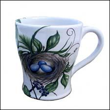 Nest mug designed by Joy Newton