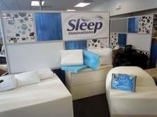 The EOS innovation center at Sleep Innovations provides an open environment.