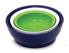 The Low-Pro from CaliBowl offers a shallow depth with the functionality of a deeper bowl. calibowl.com