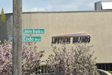 Lifetime Brands Boulevard street sign
